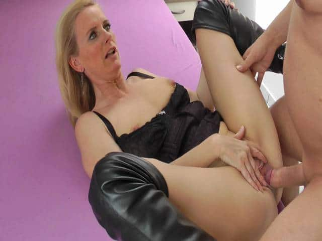 German blond milf dirtytina after venus party - 1 part 8