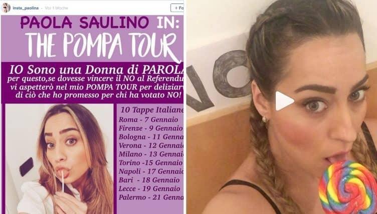 italienisches Model verspricht Blowjob fürs NEIN-Sagen