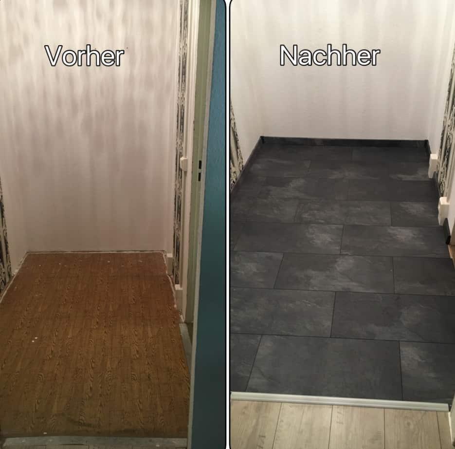 Vorher und Nachher - mein Büro