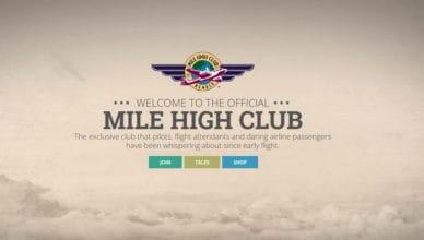 Sex im Flugzeug - der Mile High Club
